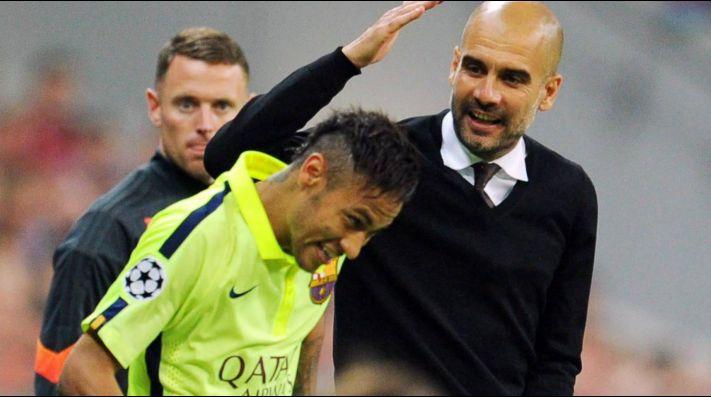 Neymar admite que le gustaría trabajar con Guardiola