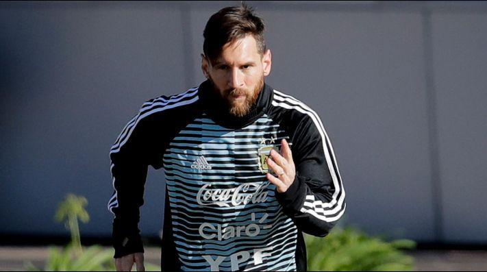 Así llegó la selección argentina a Rusia