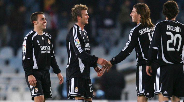 ec7d1f025 Fabio Cannavaro y Sergio Ramos fueron compañeros por cuatro años en el Real  Madrid.