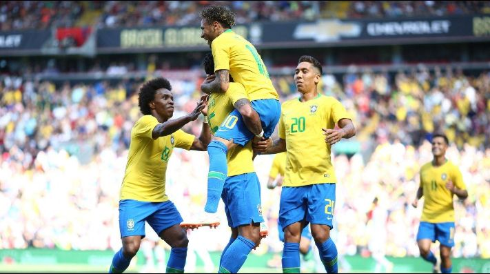 Brasil Afronta Su Ultima Presentacion Amistosa