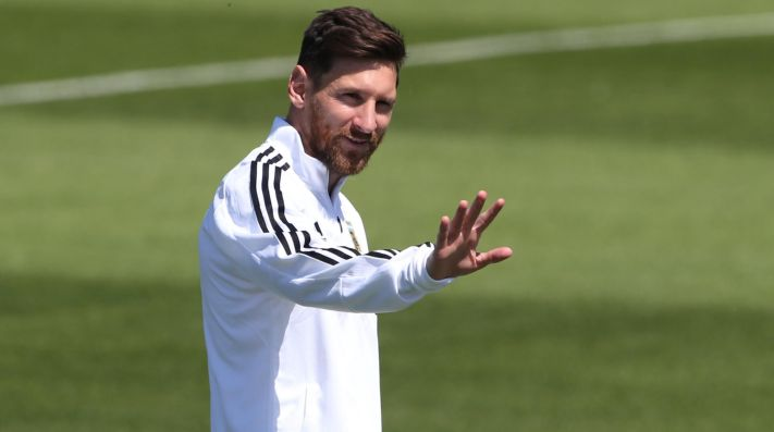 Un Messi desolado y la prensa argentina desmoralizada