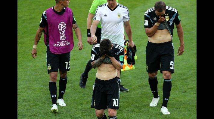 El dolor de Lio Messi: