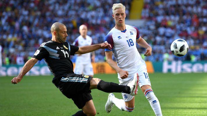 Argentina e Islandia, cara a cara en el primer partido.
