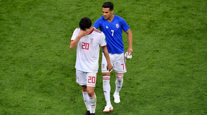 El iraní Azmoun abandona la selección tras recibir insultos