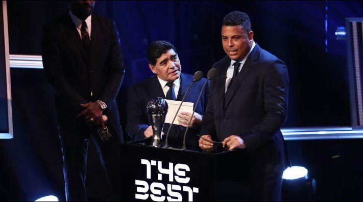 Maradona llenó de elogios a Ronaldo en su programa