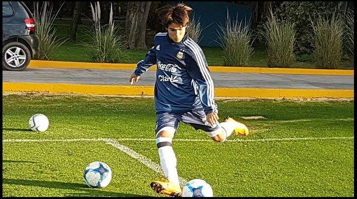 El 'Messi mexicano' decide jugar con Argentina — FOTOS