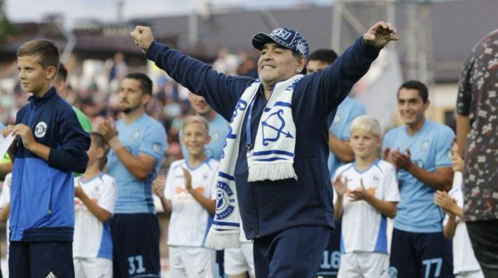 Maradona asumió en el Dinamo Brest y generó revolución - Deportivo