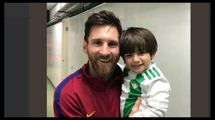El tierno gesto de Leo Messi con el hijo de Andrés Guardado