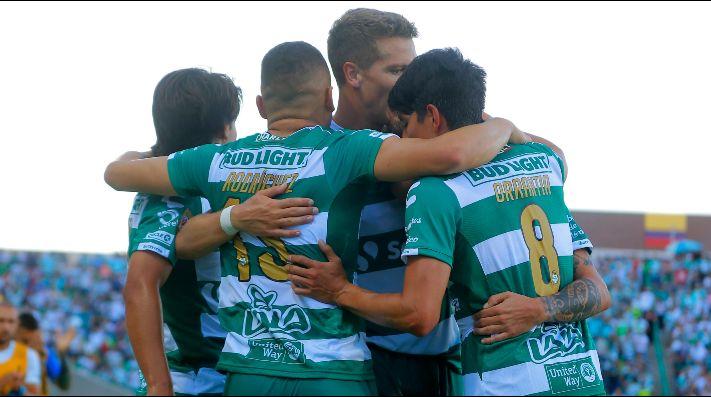 Santos logró segundo triunfo en casa tras derrotar a Puebla