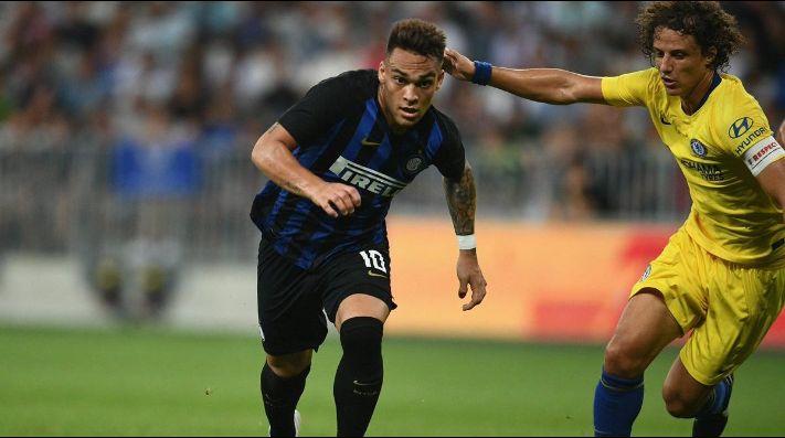 Lautaro Martínez continúa rompiendo redes con la camiseta del Inter