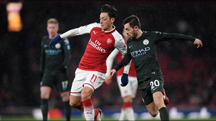 Arsenal vs Manchester City (Foto: Getty)