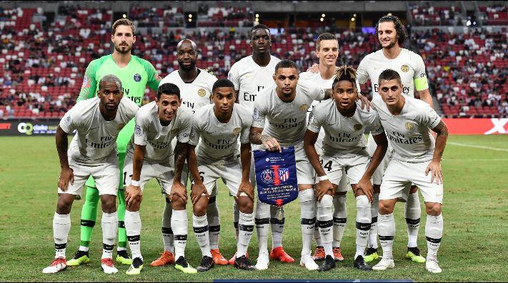 PSG golea al Caen en el inicio de la Ligue 1