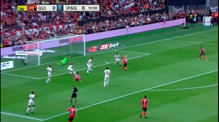 Mbappé sigue con nivel Mundial: el golazo para el PSG