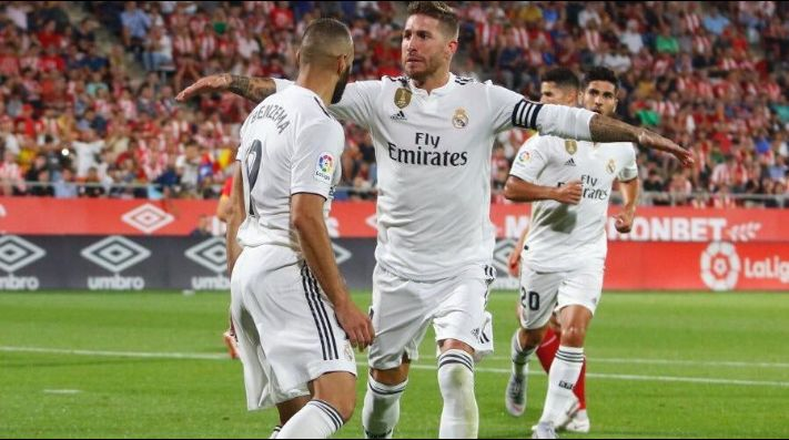 Real Madrid da voltereta ante Girona con gran contundencia