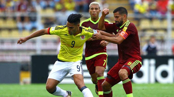 Juan Fernando Quintero brilló con Colombia en la victoria sobre Venezuela