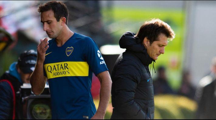 Carlos Izquierdoz con Boca Juniors