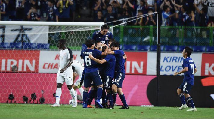 Japón se aprovechó de la desmejorada Costa Rica