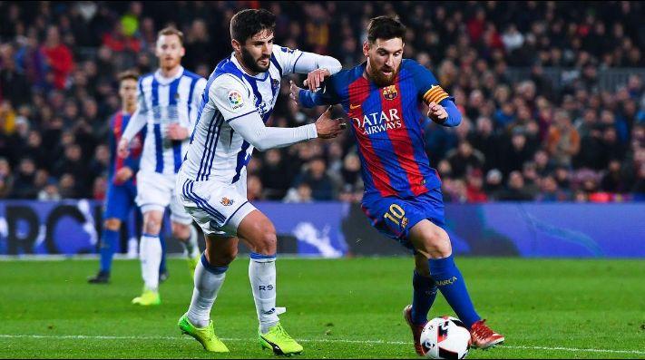 El Barça derrotó a la Real Sociedad