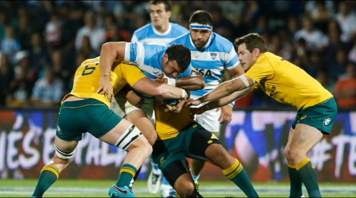 Los Pumas vs Australia (Foto: Getty)