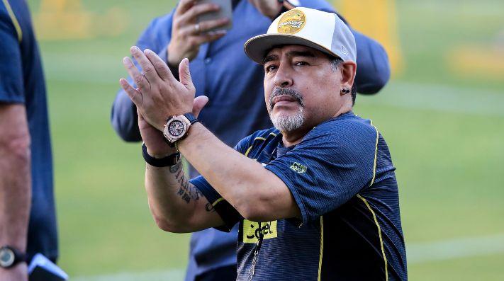 Así se vivió el partido de Dorados con Maradona — Diversión y triunfo