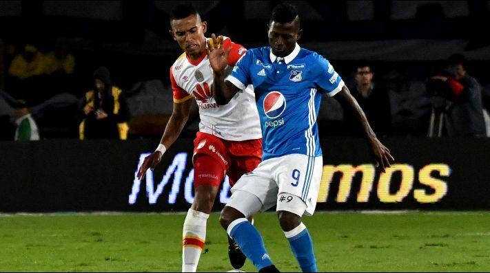 Santa Fe y Millonarios igualaron sin goles en la Copa Sudamericana