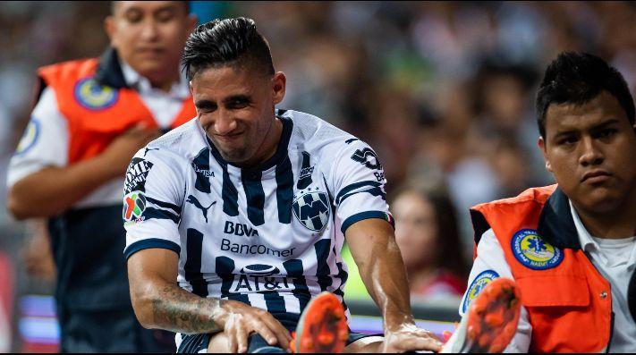 Atacante uruguayo de Rayados queda fuera de la temporada por lesión