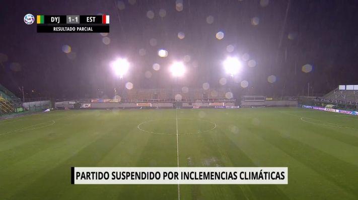 Suspendido: Defensa y Justicia y Estudiantes jugaron hasta que la tormenta quiso