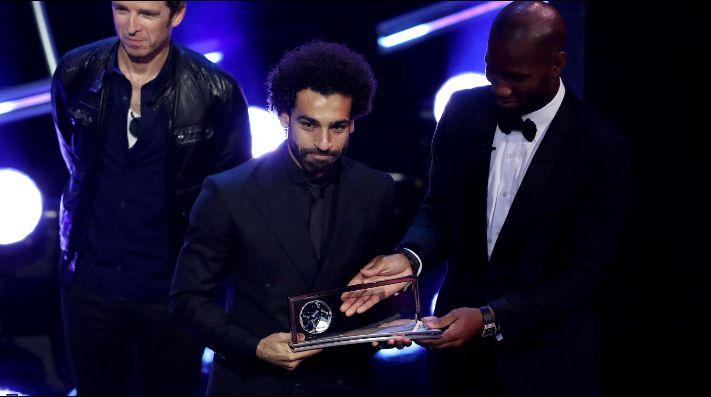 Sorpresa en el Premio Puskas: Salah se queda con el trofeo