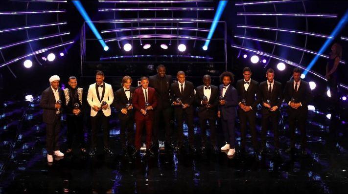 El 11 ganador del equipo ideal de la FIFA
