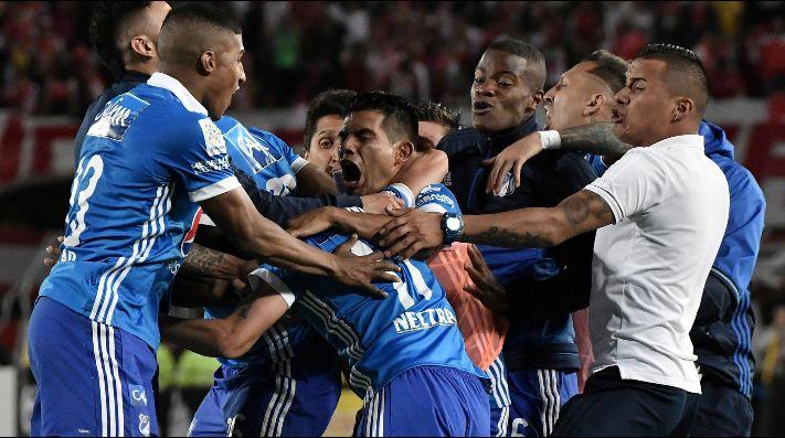 Millonarios cayó ante Bucaramanga y se alejó del grupo de los ocho