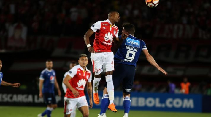 Desde el punto penal Santa Fe eliminó a Millonarios de la Sudamericana