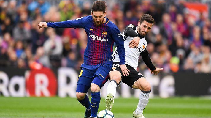 Valencia 1 FC Barcelona 1 (LaLiga J8) — Vídeo resumen