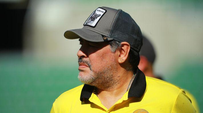 Maradona se despacha contra Mascherano hablando de Messi