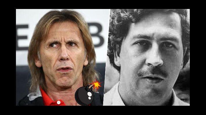 Pablo Escobar quiso matar a Gareca — Increíble