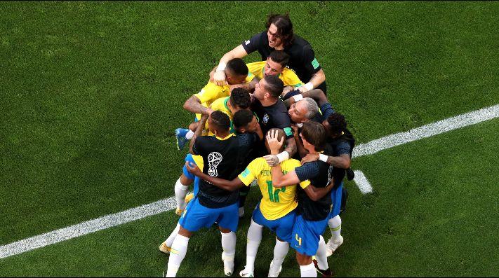 Brasil sin problemas vence a Arabia Saudita
