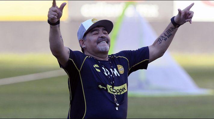 Maradona preferiría dirigir al Tri antes que a Argentina