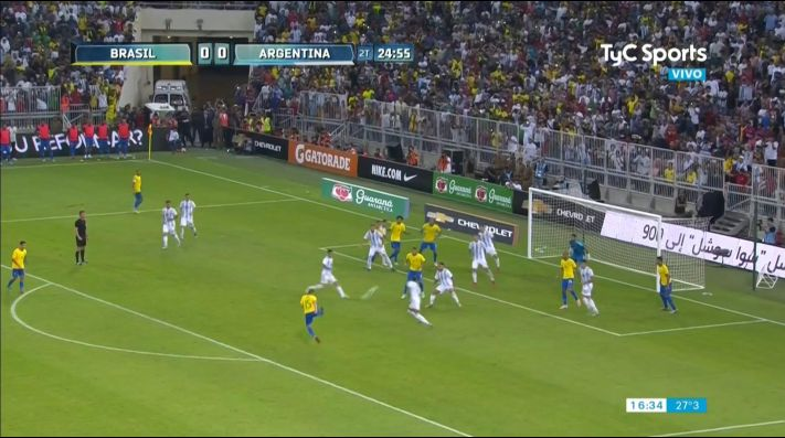 Argentina vs Brasil EN VIVO Clásico sudamericano por fecha FIFA