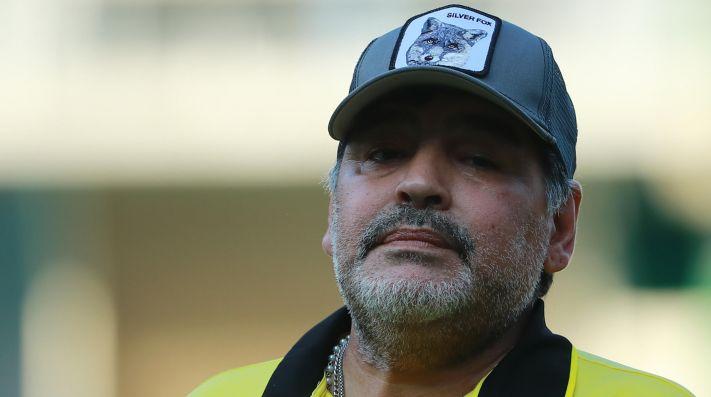 Maradona olvidó las críticas: