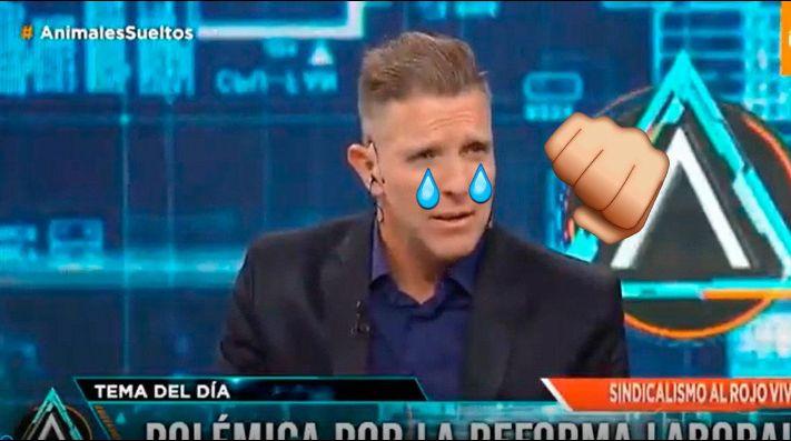 La reacción de Fantino al enterarse de la clasificación de River - Deportivo