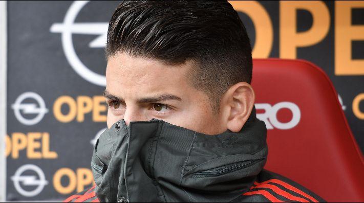 James discute con director deportivo del Bayern Múnich — Bild