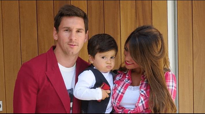 Se reveló el misterio de la remera del hijo de Messi