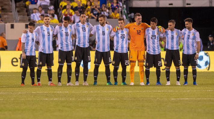 Tres bajas en el seleccionado argentino de Scaloni