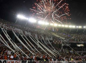 El Estadio Monumental de River Plate.