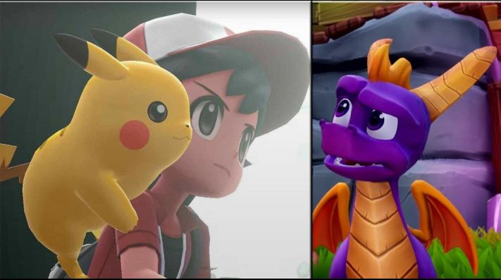 Pokémon Lets Go Pikachueevee Se Complementan Para Ser Los Juegos