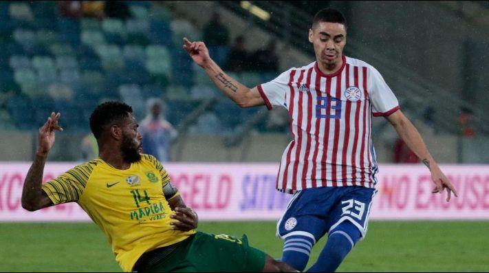 En el último minuto, Sudáfrica arruinó el debut de Osorio en Paraguay