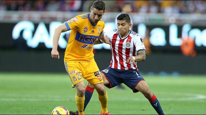 De último minuto, Tigres le gana a Chivas 1-0
