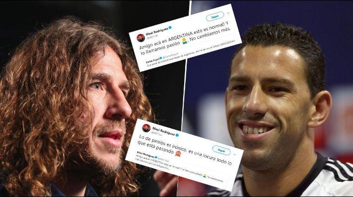 Puyol se pronuncia sobre la violencia de la Copa Libertadores