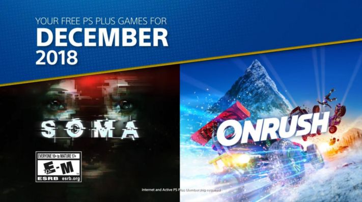 Soma y Onrush son los juegos de PlayStation Plus para diciembre