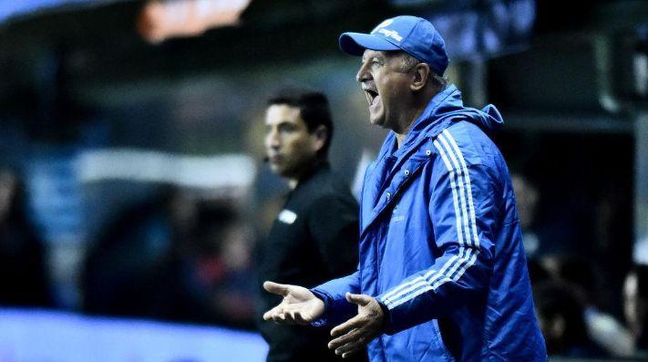 Luiz Felipe Scolari técnico de Palmeiras