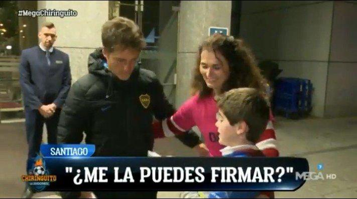 River reconoce el campo del Bernabéu a puertas cerradas